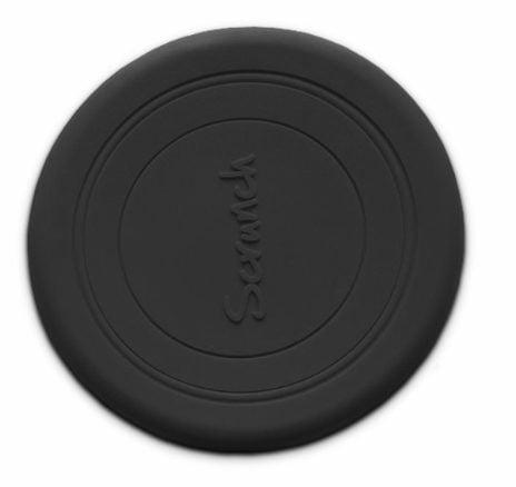 Scrunch frisbee musta