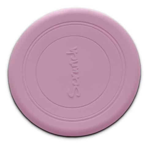 Scrunch frisbee dusty rose